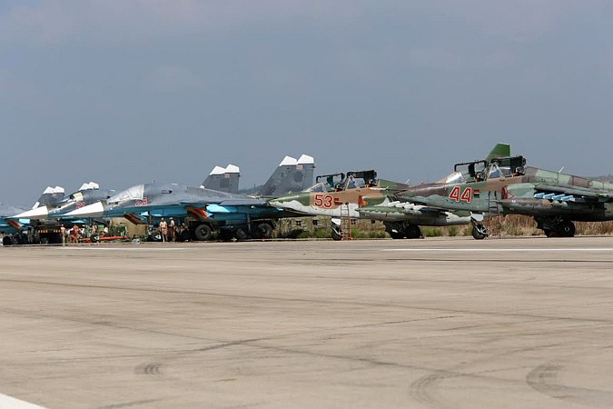 Ռուսական օդուժը տասնհինգ հարված է հասցրել ԻՊ հենակետերին