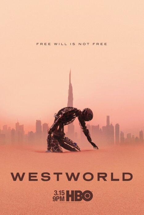 Мир дикого Запада 3 сезон