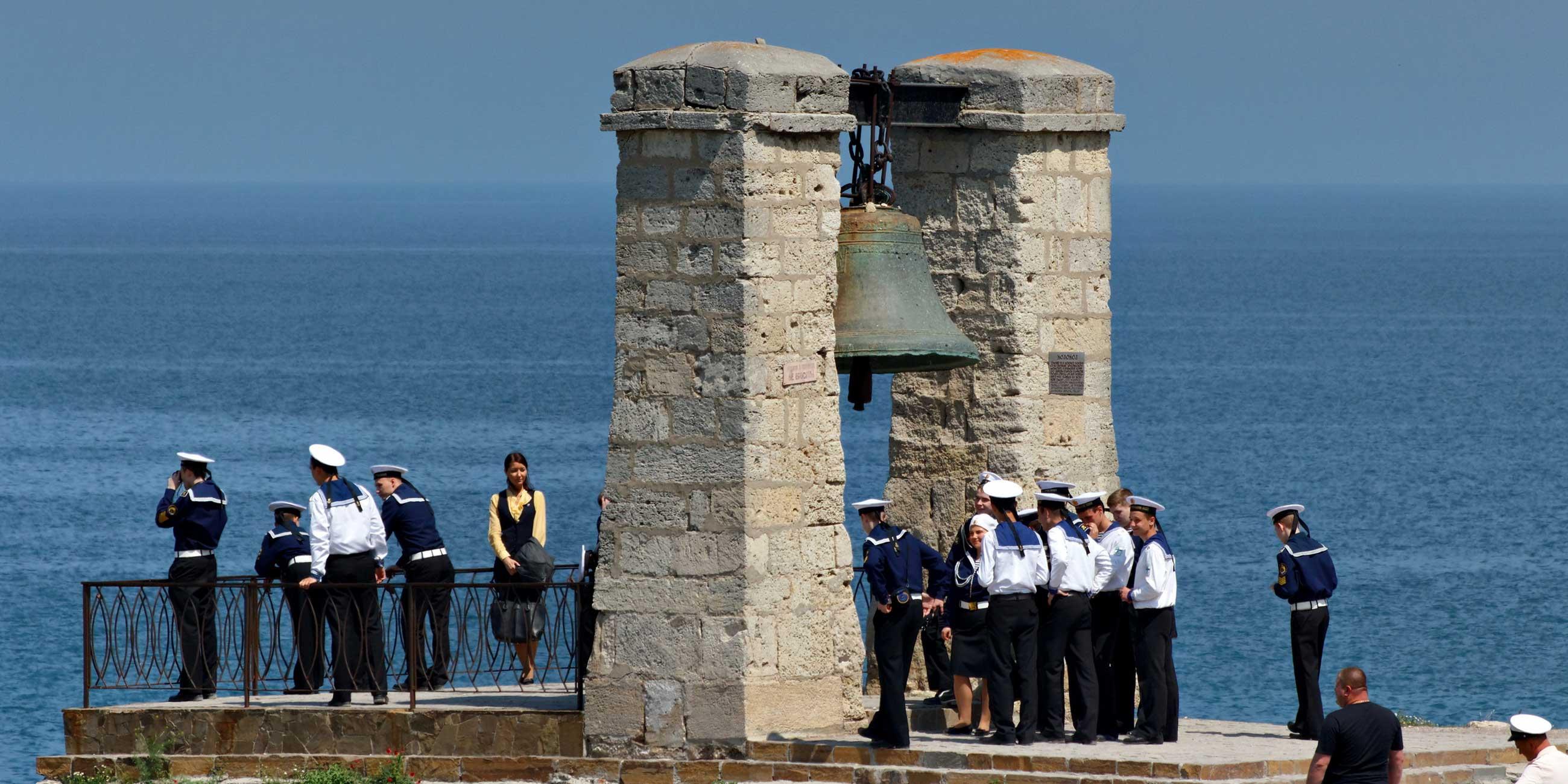 Знаменитый колокол в Херсонесе весит почти 5,5 тоннФото: Алекс Малев, flickr.com