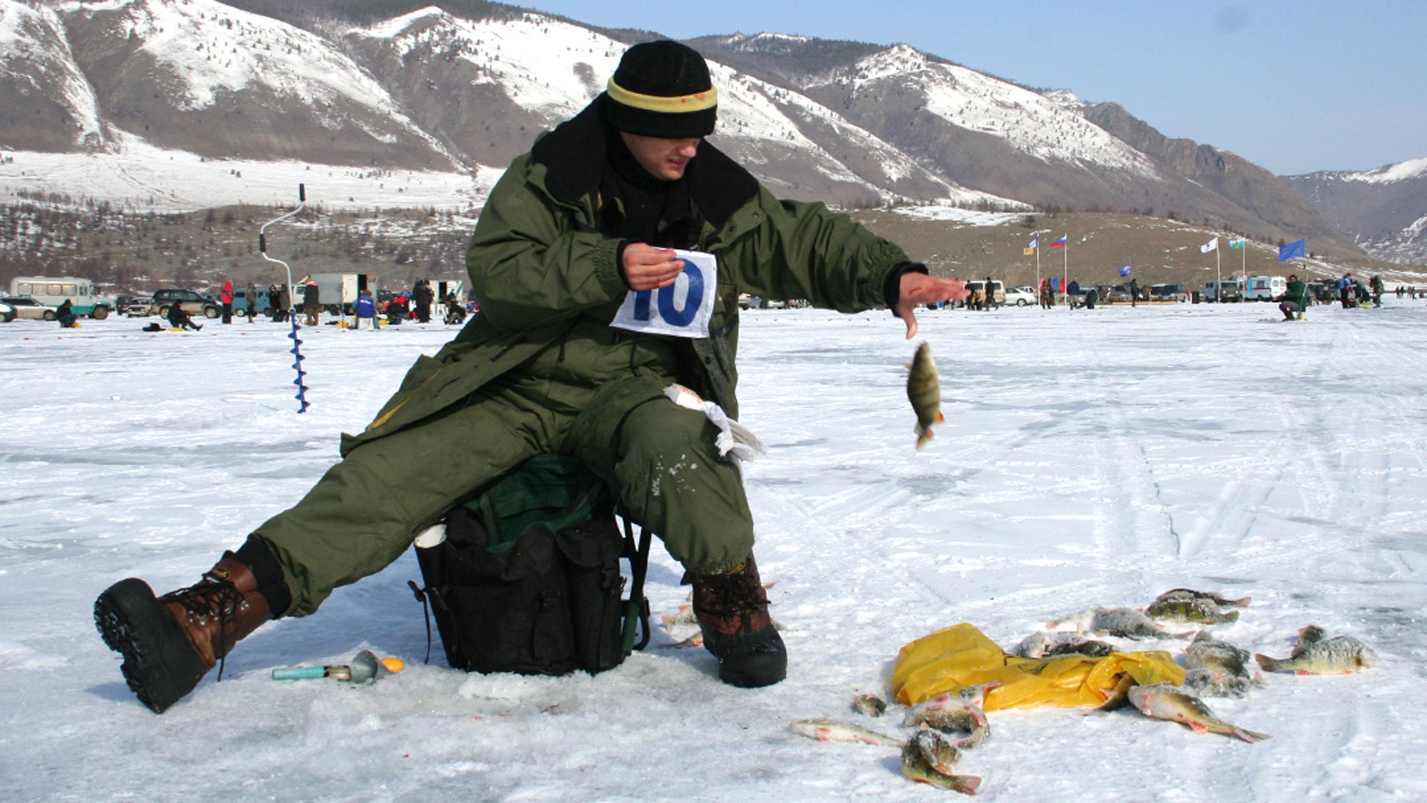 Зимняя рыбалка на байкале 2019