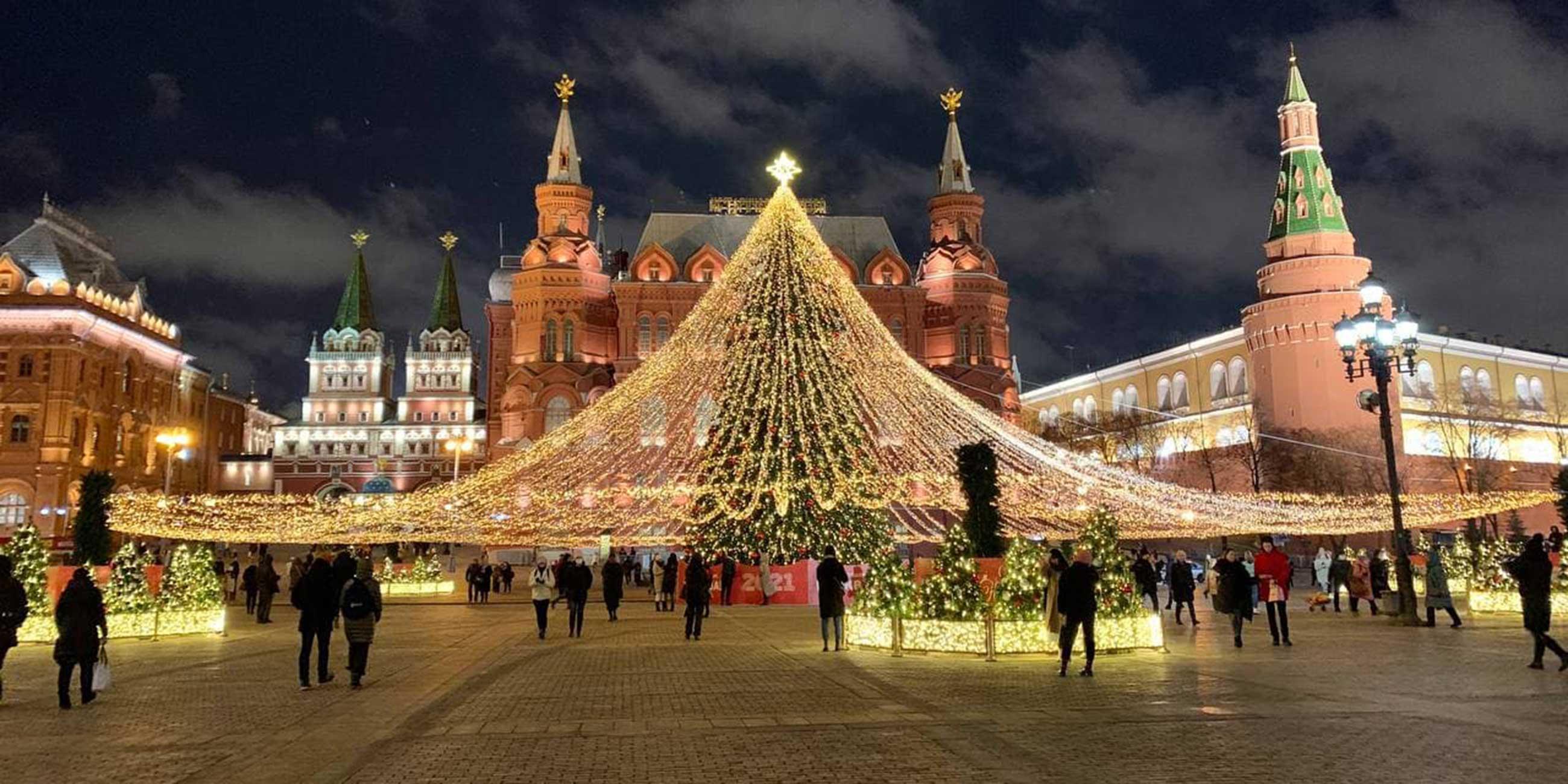 новогодний кремль