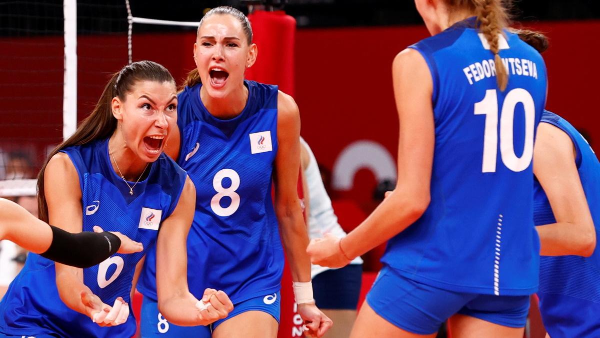 Победа над сборной США принесла россиянкам огромную радость. Фото: REUTERS