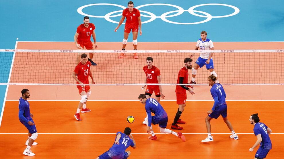 Волейбол - Россия - Франция - Олимпиада