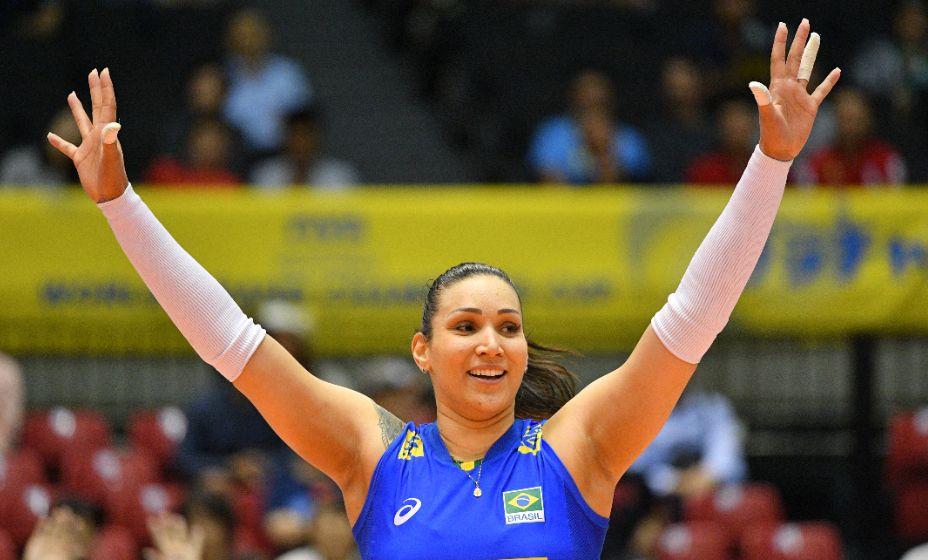 Тандара Кайшета помогла победить россиянок в четвертьфинале, но с допингом она просчиталась. Фото: Global Look Press