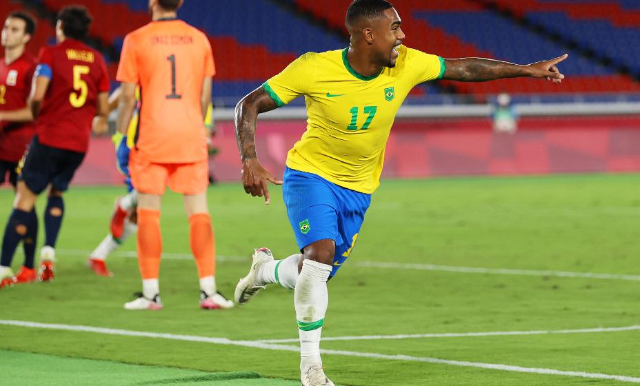 Бразильский игрок питерского «Зенита» стал олимпийским чемпионом в составе сборной Бразилии. Фото: Твиттер Олимпийских игр