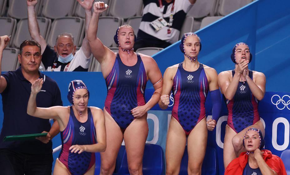 Российские вотерполистки в полуфинале Олимпиады! Фото: Reuters
