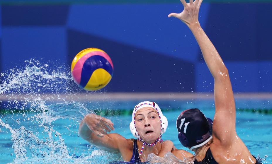 Женская сборная России по водному поло встретилась в полуфинале с командой США. Фото: Reuters