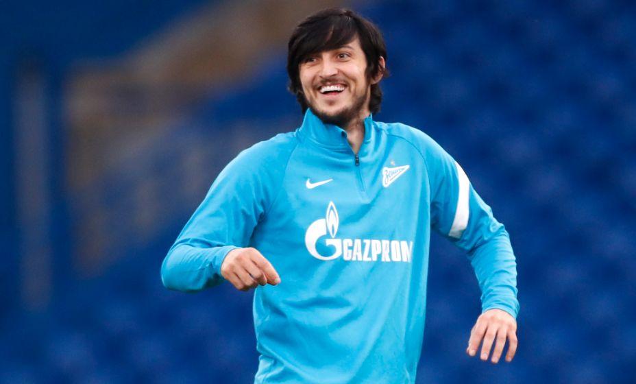 Сердар Азмун остался с красной карточкой, но сыграет против «Спартака». Фото: Reuters