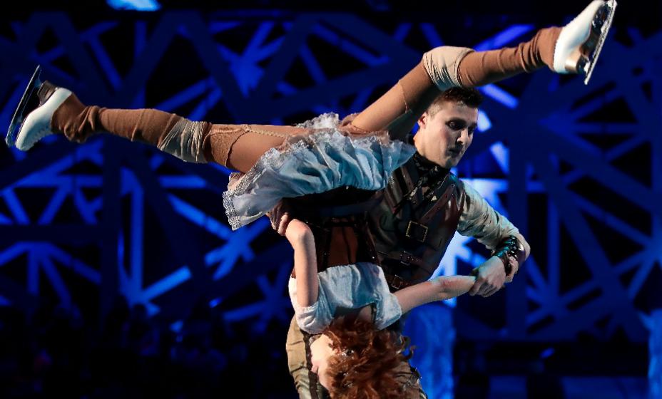 Экс-фигурист Александр Эрнест в седьмом сезоне шоу «Ледниковый период» победил в паре с актрисой Ольгой Кузьминой. Фото: Global Press Look