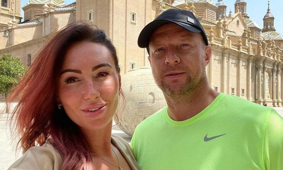 Вячеслав Малафеев с супругой Екатериной. Фото: Instagram Малафеева