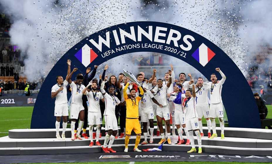 Сборная Франции стала вторым победителем Лиги наций. Фото: Reuters